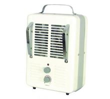 Qmark Portable Fan Utility Electric Heater - 120 Volt - 1300W/4,427Btu 1500W/5,120Btu - MMH1502T