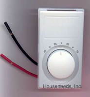 Single-Pole Wall Mount Thermostat - M601W