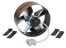 Marley Qmark Gable Attic Fan - GV16. Use Gable Attic Exhuast Fans in the Gable Side of your house