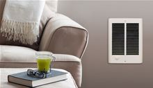 Qmark COS-E Compact Electric Wall Heater - 120V - 1000 watts - CZ1012T installed in a room