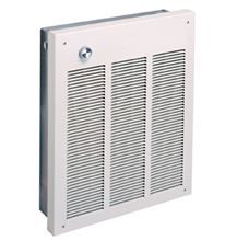 Qmark Marley Electric Space Heater 220 Volts and up to 4800 watts LFK484F with built in thermostat installed