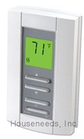 Honeywell Electronic Line Voltage Double Pole Thermostat - Digital - Non-Programmable - HONTL7235A1003 - Non-Returnable