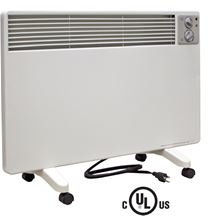 Qmark Electric Portable Radiant Convection Panel Heater - 120 Volt - 1500/1000/500 Watts - WPC1500