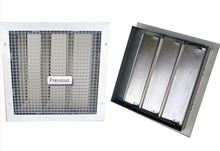 Quiet Cool Ceiling Box and Damper Grille Kit - 16 inch by 20 inch Damper - For Roof Mount Fans - QC-60020