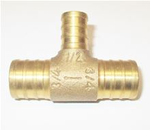 Raven MFPT3412 / MFPT 3412 Pex Monoflow Tee PEXMF3412T. 3/4 by 3/4 by 1/2 PEX Fitting Mono Flo Tees for Hydronic Heating Systems