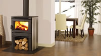 Regency Alterra Contemporary Wood Stove Metallic Black CS1200