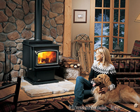 Wood Classic Stove Model F1100