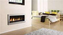 Regency Gas Fireplace Regency Contemporary Horizon HZ40E-NG10 Medium Natural Gas Direct Vent Fireplace