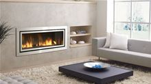 Regency Gas Fireplace Regency Contemporary Horizon HZ54E-NG10 Large Natural Gas Direct Vent Fireplace