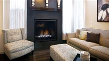 Regency Gas Fireplace Regency Contemporary Horizon HZ965E-NG10 Large Propane or Natural Gas Direct Vent Fireplace