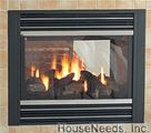 Regency Panorama P121 & P131 Gas Fireplace = v7800