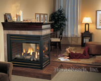 Regency Panorama Pier Glass Fireplace - P131-NG2