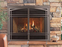Regency Medium Direct Vent Natural Gas Fireplace