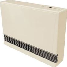 Rinnai EX38CN Direct Vent Natural Gas Space Heater Natural Gas EX38 NG. Natural Gas Heater with up to 38400 Btu in Beige