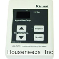 Rinnai Tankless Water Heater Commercial Control MCC91-2.