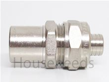 Safelink 1 inch PEX to copper adapter - 4343210 and 4331000