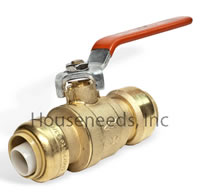 Cash Acme Sharkbite Ball Valve 1/2 by 1/2 Inch Lead Free 22222-0000LF