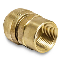 Cash Acme Sharkbite Straight Connector Female NPT U072LF