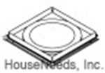 M&G Duravent 6 Inch Round A-Type Stainless Steel Fire Stop 9456