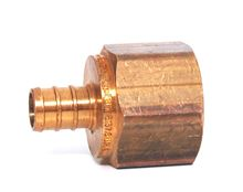 Viega 1/2 inch Crimp by 3/4 inch FPT - BIN 2270 - 46334