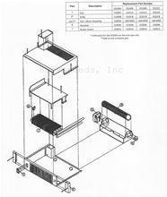 Smiths Environmental Fan KickSpace Heaters Diagram KS2004 KS2006 KS2008 and KS2010