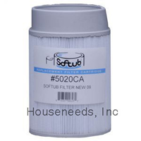 Softub Essentials - Snap-On Replacement Filter - For Softub Spas Made after June 2009 - 5020