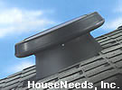 SolaTube Solar Powered Attic Fan - High Profile Roof Mount Vent - 122021