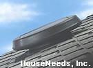 SolaTube Solar Powered Attic Fan - Low Profile Roof Mount Vent - 122020