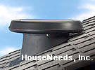 SolaTube Solar Powered Attic Fan - Pitched Roof Mount Vent - 122022