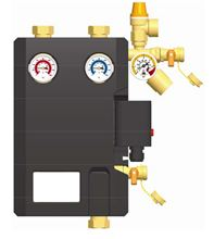 Stiebel Eltron Flowcon FA 607041 Double-line solar pump station with pump - 607041