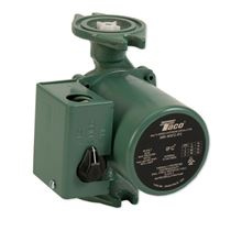 Taco Pump - Cast Iron Circulator 3 Speed with Internal Flow Check - 1/20 HP - Taco 0010-MSF2-IFC