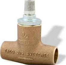 Taco Bronze Flo check - Solder/Sweat - 3/4 inch - 219-4