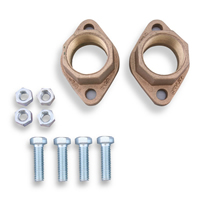 Taco 1-1/2 inch Bronze Circulator Flange Set - 110-254BF