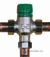 Taco Mixing Valve - 1/2 inch Sweat Fitted - 5002-C3
