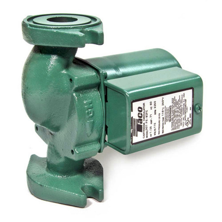 Taco 007 F5 Taco Pump Cast Iron Circulating Pump 1 25 Hp