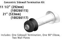 Takagi Concentric Venting Standard Sidewall Kit 100266115