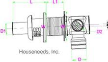 Takagi Concentric Wall Ventilation Terminator 9008148005