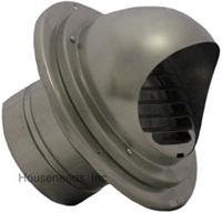 Takagi Wall Ventilation Terminator with Hood TK-KPWH4-1