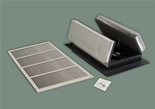 Tamarack Technologies Whole House Fan - R50 Insulation - White Grill - TTi-HV1000R50