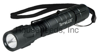 Terralux Lightstar 220 LED Flashlight - 220/100 Lumens Dual Mode - Batteries Included - TLF-3C2AAEX