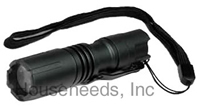 Terralux Lightstar 100 LED Flashlight - 100/50 Lumens and Strobe Multi Mode - Batteries Included - TLF-1C1AA