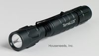 Terralux Lightstar 180 LED Flashlight - 180 Lumens - Batteries Included - TLF-3C2AA