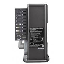 Toyotomi ToyoStove Laser Laser 530GR Direct Vent Oil Kerosene Heater 22000 BTU -  Graphite Black - Side View