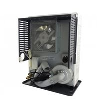 Toyotomi ToyoStove Laser Direct Vent Oil Kerosene Heater 15000 BTU - Laser 300 also burns diesel fuel Back View