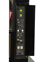 Toyotomi ToyoStove Laser Direct Vent Oil Kerosene Heater 30000 BTU - LASER 60-AT close up of control panel