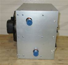 Hot Water Unit Heater with 1 Speed and 50000 BTU - CD-50. Used with a hot water heat source Side View