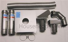 Houseneeds Vent Kit for Bosch Tankless Water Heaters Sidewall Vent Kit - VENTHN3. Used for 830ES and 940ES