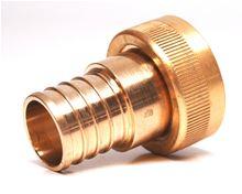 Viega 1 inch Brass Pex Crimp insert by Manabloc - BIN 1095 - 46416