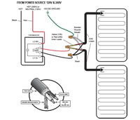 WarmlyYours TempZone EasyStat Non-Programmable Thermostat - Dual Voltage 120/240V - TH114-AF-GA - TH114AFGA wiring diagram