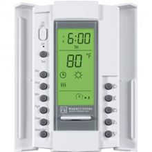 WarmlyYours TempZone Master Thermostat - 12VDC Programmable with Sensor - TH115-AF-12VDC